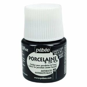 PEBEO 024042 PORCELAINE 150 ANTHRACITE BLACK 45ML