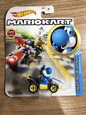 Hot Wheels Mario Kart Light Blue Yoshi Standard Car