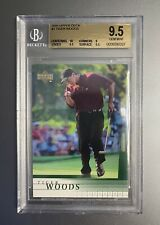 2001 Upper Deck Tiger Woods Rookie #1 BGS 9.5 💎 Mint 10 Centering PGA Masters