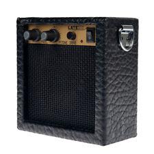 Black Mini Guitars Practice Amp Amplifier Musical Instrument Accessory