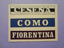 FIGURINA PANINI CALCIATORI STICK STACK CESENA COMO FIORENTINA 1988-89 NEW- FIO