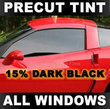 Dodge Dakota Club/Extended Cab 05-2011 PreCut Window Tint - Dark Black 15% Film