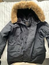 Alpha Industries N3b Cold Weather Parka. Medium Black Will Fit 42 Chest