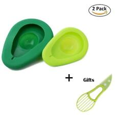 2PCS Silicone Avocado Saver Food Huggers Storage Keepers Fresh WITH Slicer Tool