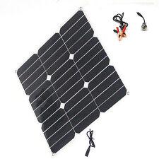 solar Modul  28 w 12v flexible Platte USB-Ladebatterie MP3 iPhone PowerBank