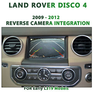 [2009 - 2012] Land Rover Discovery 4 L319 - Reverse Camera Integration