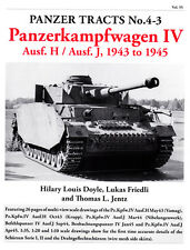 PANZER TRACTS NO. 4-3 PANZERKAMPFWAGEN IV Ausf. H, Ausf. J, 1943 TO 1945