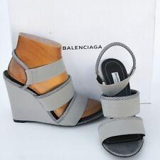 BALENCIAGA New sz 39 - 9 Authentic Designer Womens Sandals Heels Shoes open toe