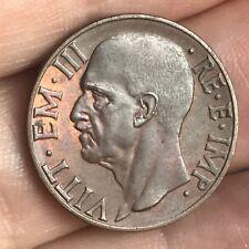 Italia - Regno - 10 centesimi 1939 - FDC UNC rame rosso #RA06