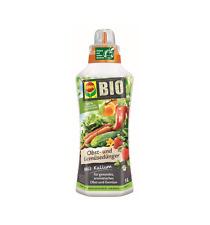 Compo VEGETABLE AND FRUIT BIO fertilizer organic compound, liquid NK 3,5-6