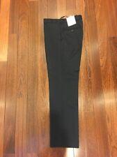 NWT CK Calvin Klein Navy Dress Pants Wool 30x32 Slim