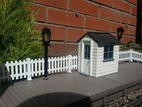 LINESIDE HUT GARDEN RAILWAY 16MM SCALE SM32 G45. COMPLETE EASY BUILD KIT