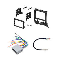 Xscorpion 08-11 Car Stereo Mounting Dash Kit + Wiring Harness + Antenna Adapter