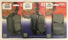 Suzuki GSF600 Bandit (1995 to 1999) EBC Organic FRONT and REAR Disc Brake Pads