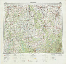 Russian Soviet Military Topographic Maps  - sheet CINCINNATI (USA), ed.1965