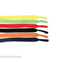 "3 PCS 15"" Eyewear Sunglass Sport Retainer Neoprene Band Cord Strap MUTLI-COLOR"