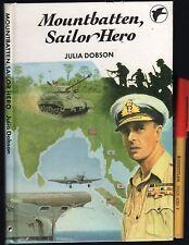 MOUNTBATTEN, SAILOR HERO rare Children's Reader h'cover