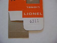 Lionel 6311 flatcar w/pipes  Licensed Reproduction Window Box