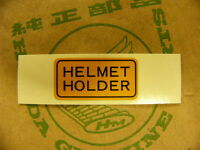 Honda CB 125 175 200 250 450 650 750 900 Aufkleber Helmet Holder