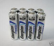 8 Energizer L91 Ultimate Lithium AA Batteries Exp 2036