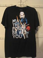 Star Wars Shirt NWT May The Force Be With You Medium T-Shirt Disney
