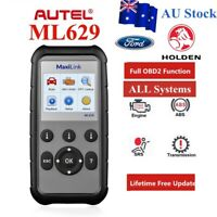 Autel ML629 OBD2 Auto Diagnostic Tool Code Reader Scanner ABS SRS Engine Airbag