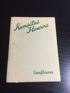Kensitas Silk Flowers  Design Sunflower Drooping Large  Size