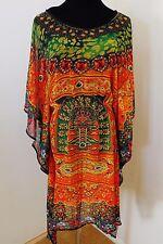 Designer kaftans Tunics sheer light Georgette for Women size s/m 40 inches bust