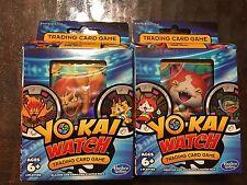 Yo Kia Watch Trading Card Game Jibanyan Blazion Rare Starter Packs