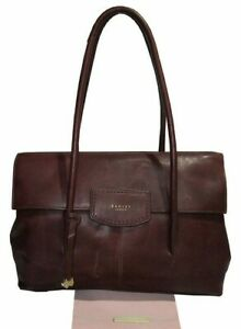 RADLEY London Pebble Leather Shoulder Red Bag Msrp:$298.00