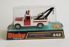 Rare Dinky Toys No. 442, Land Rover Breakdown Crane, - Pristine Mint Condition