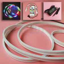 2M WS2812B 3020 RGB LED Pixel Neon Tube Flat Strip Light 5V Addressable Slim