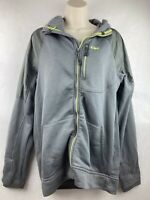 Outdoor Research Hooded Mens Jacket Size L Gray Hiking Camping Coat