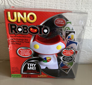 New In Box Sealed Uno Roboto Game The Interactive Wild Card