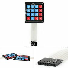 2Pcs 4 x 4 Matrix Array 16 Key Membrane Switch Keypad Keyboard Para Arduino BS6