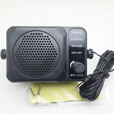NEW MINI EXTERNAL SPEAKER CB RADIO SH2P4 Mobile Police Scanner Ham extension