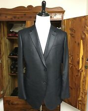 $1795 Armani Collezioni Blue Shine 2 Button Blazer **Current Season**