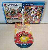 Super Bomberman R - Jeu PS4 - PAL français - Complet - Comme neuf