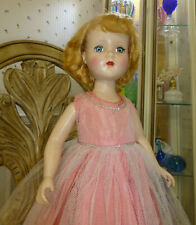 New ListingVtg 1950s Arranbee R&B 21� Nanette/Nancy Lee? Walker Doll w Pink Dress Saran Wig