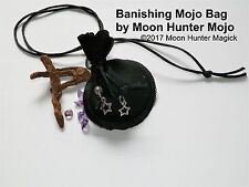 Banishing Warding Mojo Bag Banishing Charm Banishing Spell Hand Made Amulet