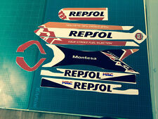 Montesa  4RT  2014 style Works Repsol Mudguard / Fender & Frame  Decal Set
