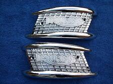 TRIUMPH insignias Tanque de Gasolina 1957-66 3TA/5TA/T90/T100/TR6/T120 * Nuevo *