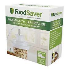 Container Jar Sealer FoodSaver Standart Wide Mouth Mason Lids Sealing Vacuuming