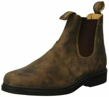 Blundstone Style 1306 Australian Chelsea Boots with Chisel Toe - Rustic Brown
