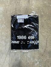 Comme Des Garçons 1986 Tee T-shirt CDG homme play not supreme