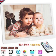 10.1 Inch Digital Photo Frame 1920x1080 HD IPS Display Photo/Music/Video Player