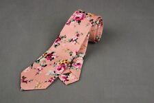 New Men's Cotton Flowers Tie Neck Tie Wedding Necktie Narrow Slim Skinny SK414