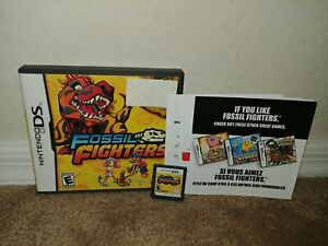 Fossil Fighters NO MANUAL & TESTED (Nintendo DS, 2009) AUTHENTIC