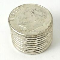Roosevelt Dimes Silver Uncirculated 10x (Lot of 10)