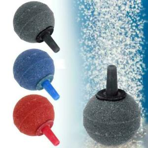 Aquarium Fish Tank Pond Pump Air Stone Cylinder Oxygen Aerator Bubble mu E0K8